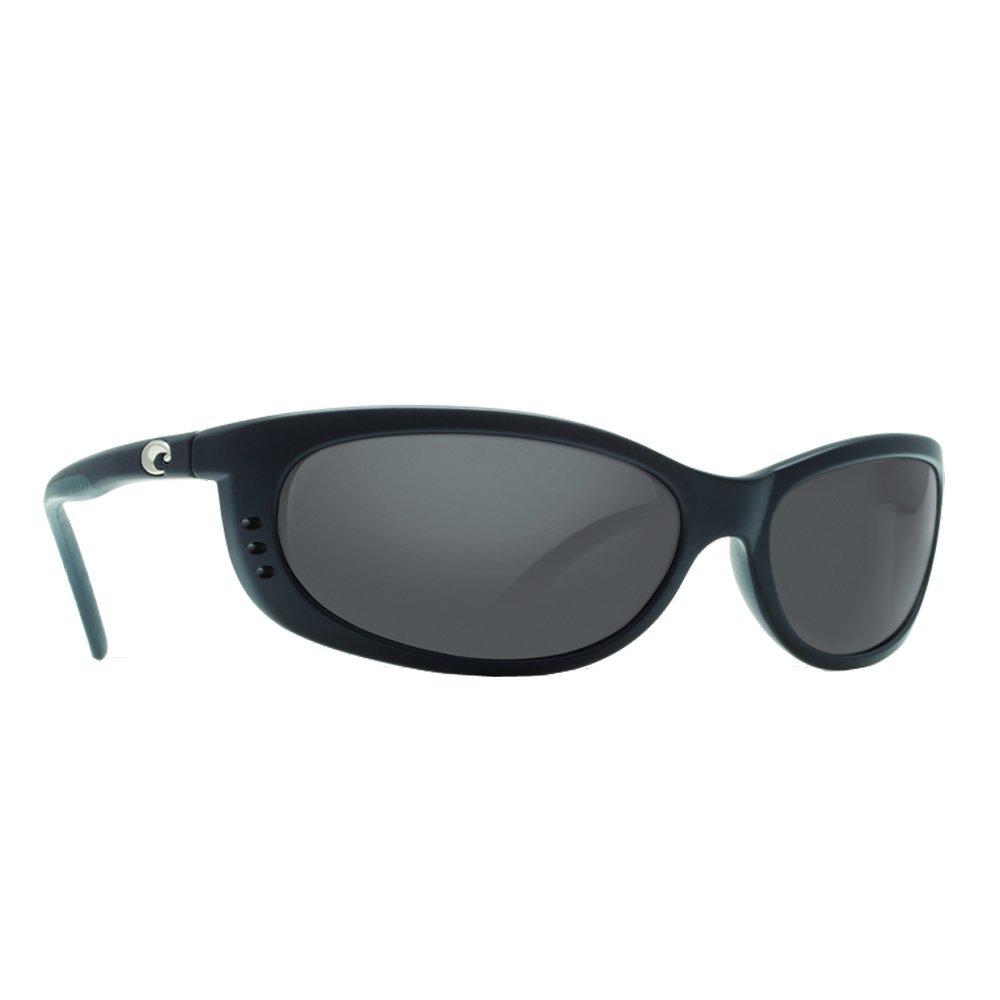 Costa Del Mar Fathom Polarized Sunglass, Black/Copper 580Plastic