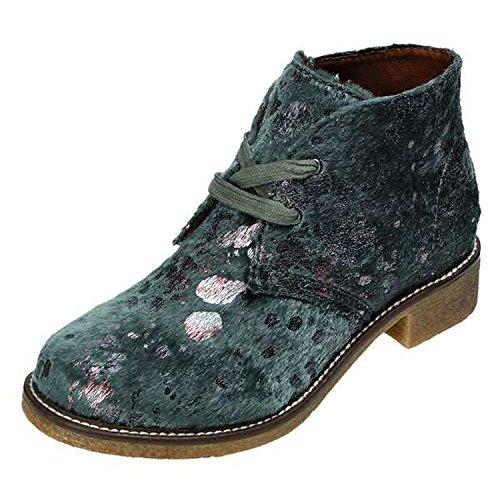 Gray 37 Catwalk Synthetic Laufsteg grau Boots Women's 2 Leather kombi Insole Gr HW 16053 40 Yx8Zqw