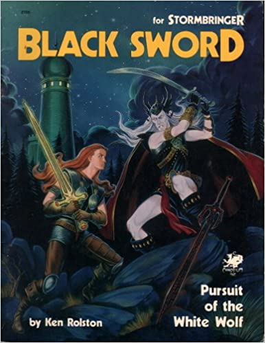 Black Sword: Pursuit of the White Wolf (Elric/ Stormbringer)