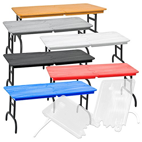 Set of 7 Different Colored Break Away Tables for WWE Wrestling Action -