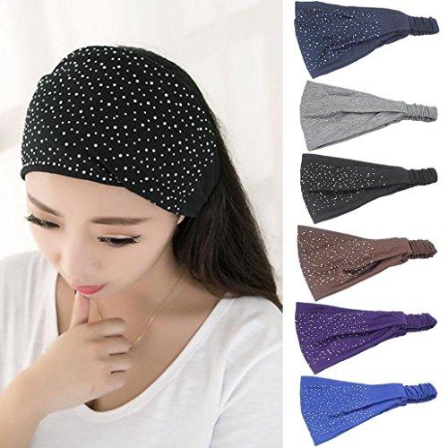 GBSELL Women Girl Diamond Hair Band Headwear