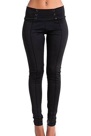 Yacun Stright Crayon Pantalon Jeans Slim Femme  Amazon.fr  Vêtements et  accessoires 258fa7425c8e
