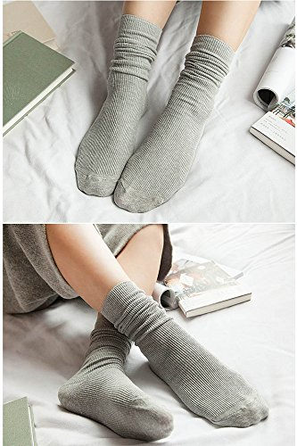 Generic Buy 2 Get 1 Japanese wind socks, tube socks Korean School Girls cotton piles of socks women girls lady autumn and winter socks Korea