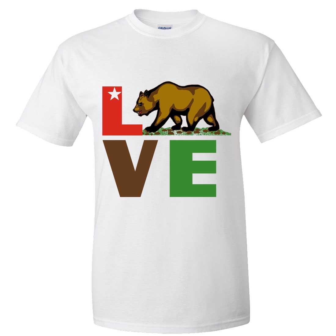 California Republic Love Bear Asst Colors T Shirt Tee 2810