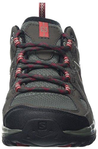 Aero Red W Castor Mineral Salomon Basses Gris Chaussures Beluga de Ellipse Gray Foncé Randonnée 2 Femme 1qqxPZtE