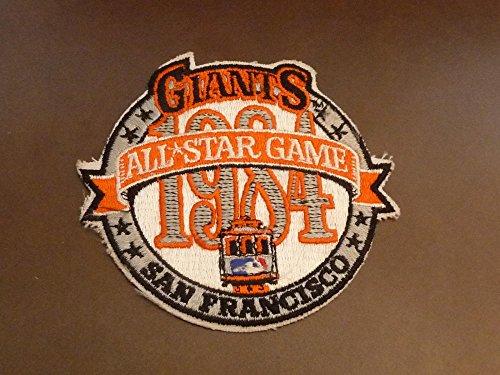 1984 SAN FRANCISCO GIANTS BASEBALL ALL STAR GAME TEAM UNIFORM PATCH 1984 Baseball All Star Game