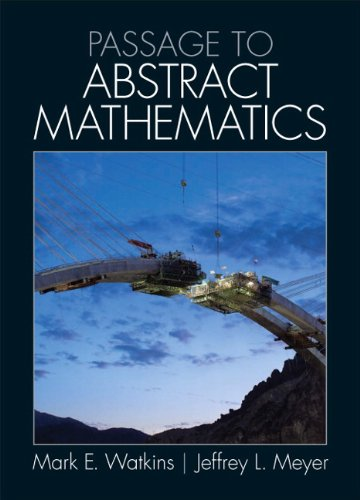 Passage to Abstract Mathematics