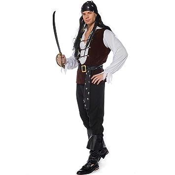 0-0 Carnaval De Halloween Negro para Hombre Adulto Traje del ...