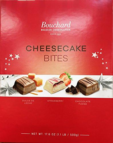 Bouchard Belgian Chocolates Cheesecake Bites, 17.6 oz gift bag