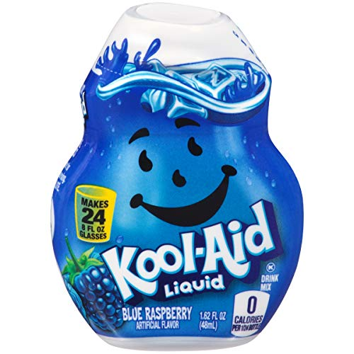 (Kool Aid Blue Raspberry Liquid Drink Mix (1.62 oz Canister))