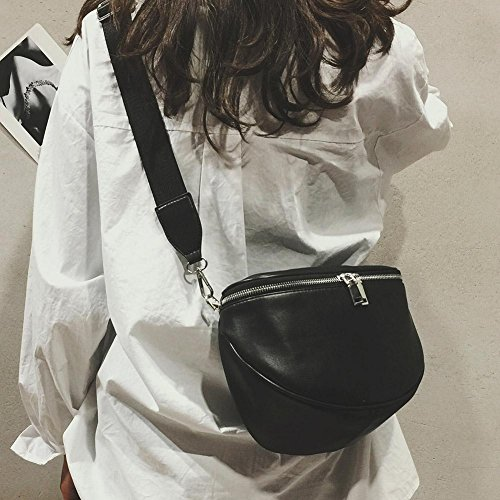 Bag PU bag Crossbody Belt Chest Fashion Leather Waist Women Shoulder Casual Zipper Bag q74ngTp