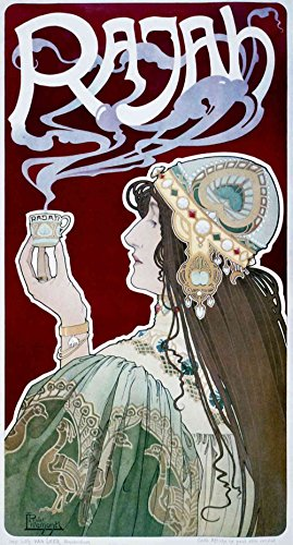 The Museum Outlet - Rajah by Henri Privat-Livemont - Poster Print Online Buy (40 X 50 (Rajah Iron)