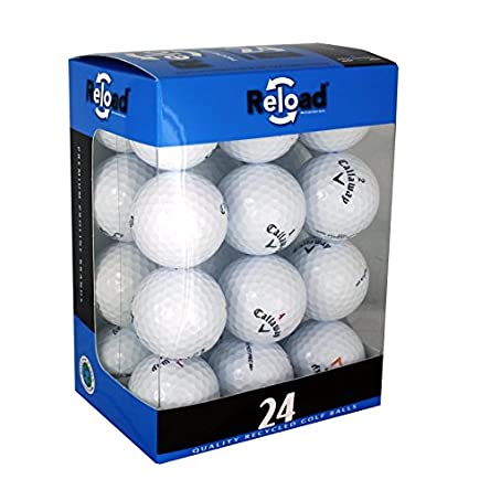 Reload Recycled Golf Balls (24-Pack) of Callaway Golf...