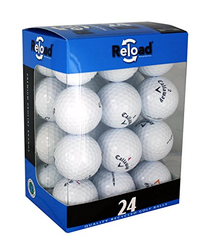 Reload Recycled Golf Balls (24-Pack) of Callaway Golf Balls (24k Golf)