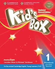 American Kids Box 1 - Workbook With Online Resources Updated - 2Edition