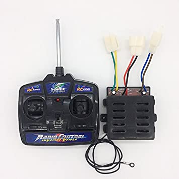 Rc King 27mhz Universal Remote Control And 12v