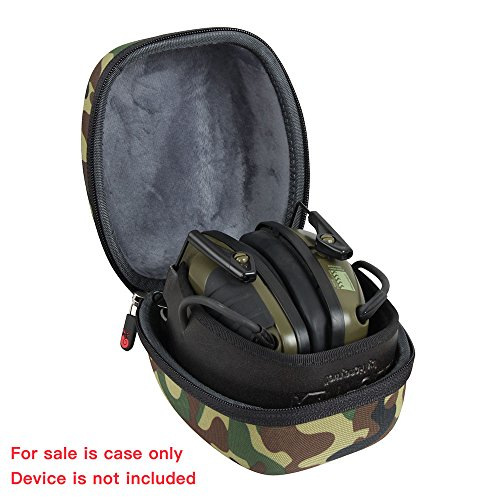 Hermitshell EVA Hard Protective Travel Case Carrying Bag for Howard Leight by Honeywell Impact Sport Sound Amplification Electronic Earmuff by Hermitshell (Image #1)