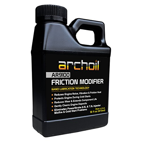 Archoil AR9100 Oil Additive (16oz) for All Vehicles - Powerstroke Cold Starts, Eliminates Injector Problems (Inc Archoil)
