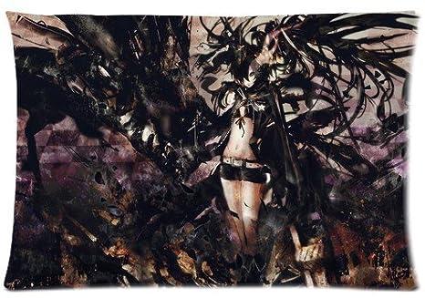 Amazon.com: Anime japonés Series BRS funda de almohada Black ...