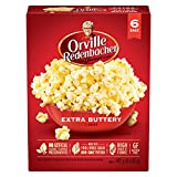 Orville Redenbacher's Extra Buttery Microwave Popcorn (6 Boxes) 492 Grams