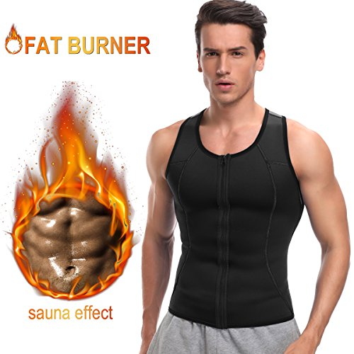 35589fd957 HOPLYNN Men Sauna Vest for Weightloss