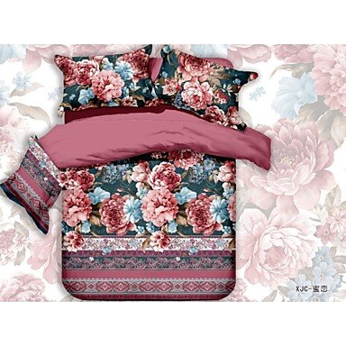 Classic Chambray Bedding 100 Cotton Duvet Quilt Cover 3pc