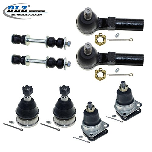 DLZ 8 Pcs Suspension Kit-2 Lower 2 Upper Front Ball Joint 2 Front Outer Tie Rod End 2 Front Sway Bar Compatible with 1993-2002 Chevrolet Camaro 1993-2002 Pontiac Firebird K6145T K6462 ES3238RL K5252 ()