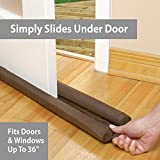 PUNP Draft Door Stopper 36 Inches, Draft Guard