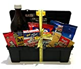 Gift Baskets Manly Mans Meat and Snack Attack Gift Baskets - Lots To Choose From (Toolbox Food Gift - Dads Rootbeer)