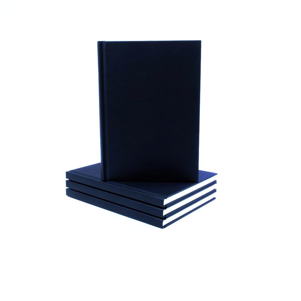 Seawhite - Album da disegno formato A5 con copertina in tessuto nero SBBA5P