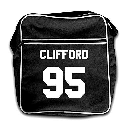 Clifford Retro Bag black 95 Black Flight q6TAgaq