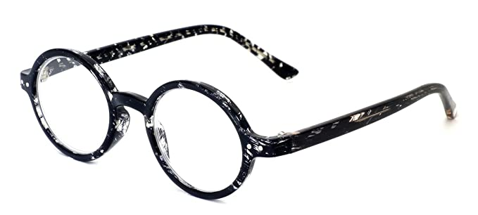 269a850c15a0 Calabria R421 Unisex Vintage Oval Reading Glasses Incredibly Lightweight  and Comfortable in Smoke +1.00