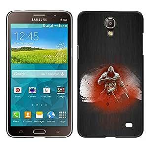 EJOY---Cubierta de la caja de protección la piel dura para el / Samsung Galaxy Mega 2 / --Asesino