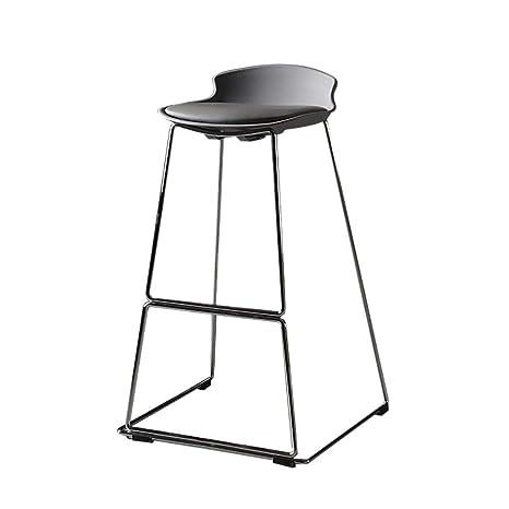 Super Amazon Com Bar Stool Artificial Leather Wrought Iron Machost Co Dining Chair Design Ideas Machostcouk