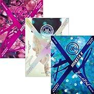 MONSTA X [BEAUTIFUL] 1st Album Random Ver CD+30p Photo+Lyrics Book+Paper+2p Card+etc+Tracking Number