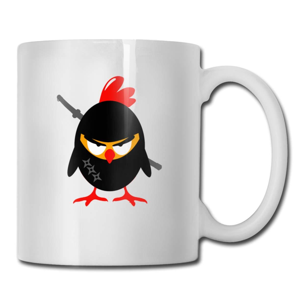 Amazon.com: Riokk Az an Angry Ninja Fried Chicken Carrying A ...