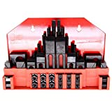 HFS(R) 58pc 7/16'' Slot,3/8'' Stud HOLD DOWN CLAMP CLAMPING SET KIT BRIDGEPORT MILL