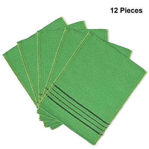 (Geyoga Exfoliating Bath Washcloth Bath Towel Skin Massage Scrub Washcloth Dead Skin Cloth (12))