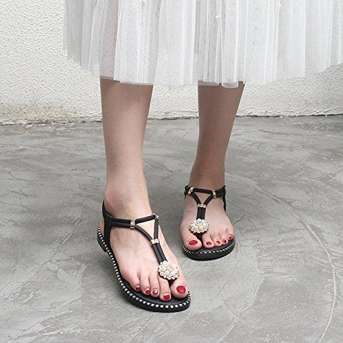 sandali sandali sandali estivi YMFIE estivi YMFIE Ladies' black Ladies' Ladies' estivi black YMFIE vdqx1w4