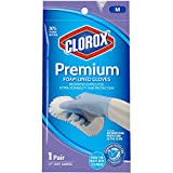Clorox, 623140 Premium Choice, Medium Double Dipped Neoprene Coating, Comfort Foam & Premium Protection Technology Gloves, (M)