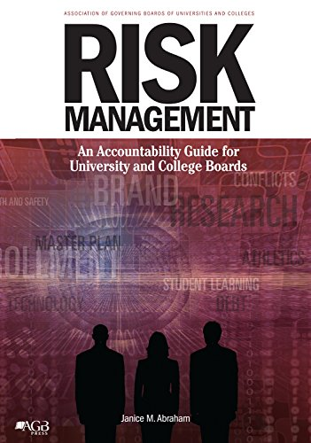 Risk Management: An Accountability Guide for University and College Boards
