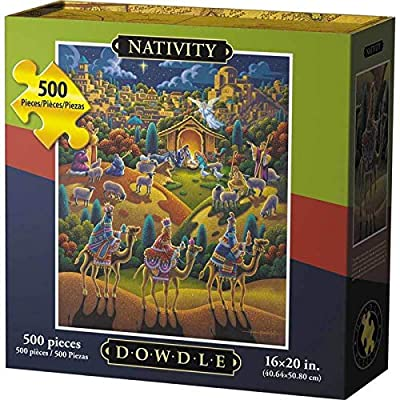 Dowdle Jigsaw Puzzle - Nativity - 500 Piece: Toys & Games