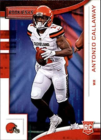 2018 Rookies and Stars Football  180 Antonio Callaway Cleveland Browns RC  Rookie Official NFL Trading 0c2b083b9