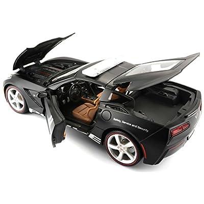 Maisto 2014 Corvette Stingray Police Diecast Vehicle (1:18 Scale): Maisto: Toys & Games