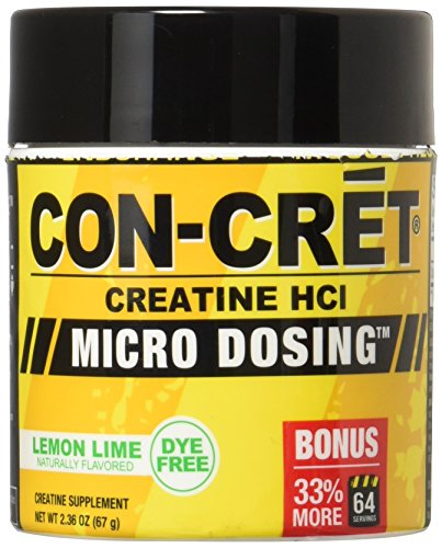 CONCRET Creatine HCL Lemon Lime 33% More 67 g