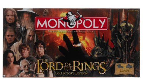 Lord of the Rings Monopoly by - Rings Monopoly The Of Lord