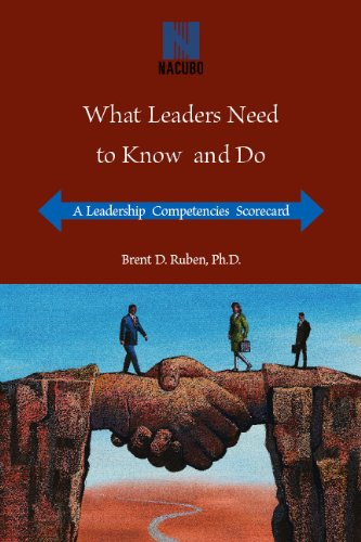 What Leaders Need to Know and Do: A Leadership Competencies Scorecard pdf epub