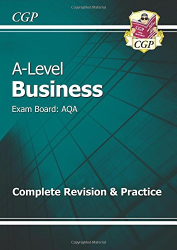 A-Level business : exam board: AQA : complete revision & practice