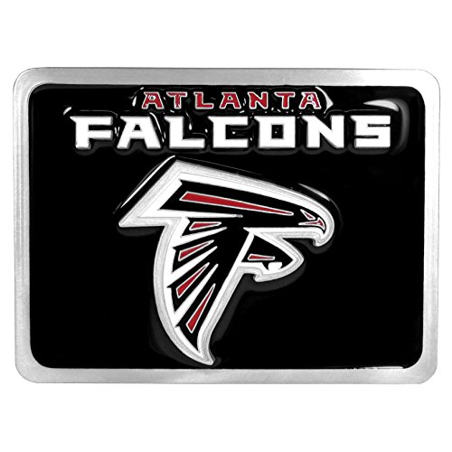 NFL Atlanta Falcons Hitch Cover Class II and Class III Metal Plugs by Siskiyou