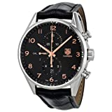 Tag Heuer Carrera Calibre 1887 Chronograph Automatic Black Dial Mens Watch CAR2014.FC6235